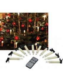 LED Christbaumkerzen mit Fernbedienung