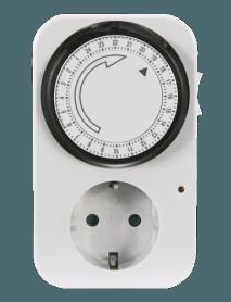 Analoge Zeitschaltuhr von 15 Min. bis 24 Std. bis 3.500 W