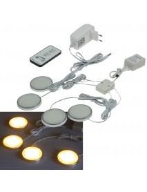 LED Aufbauleuchten-Set warmweiß Komplettset