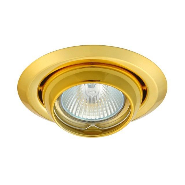 GU5.3 / GU10 Einbauringe Strahler/Spot Fassung Gold