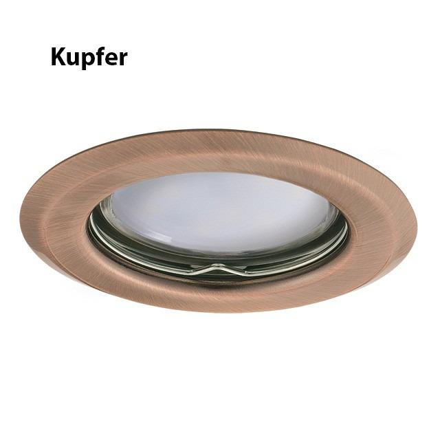Kupfer Einbauring GU5.3 / GU10