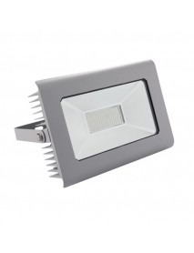 100 Watt LED Fluter Kanlux IP65 Neutralweiß 7.400 Lumen Grau