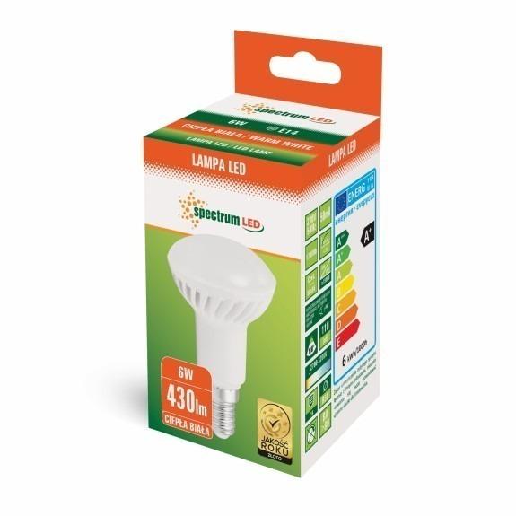 E14 LED Strahler Reflektorstrahler 6 Watt 450 Lumen warmweiß