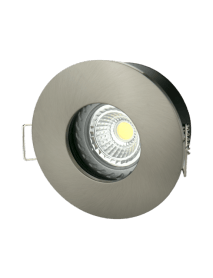 Runde Feuchtraumfassung Badezimmer IP65 inkl. GU10 Fassung Farbe wählbar