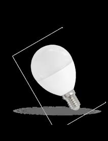 Kleine E14 LED Lampe 7 Watt 620-640 Lumen