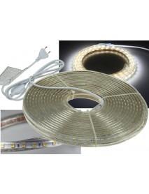 LED-Stripe Ultra-Bright 230V 20 Meter mit 200 Watt und 12600 Lumen in Kaltweiß