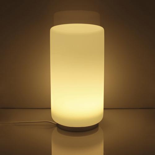 Hochwertige LED Tischleuchte RGB + Warmweiß mit Fernbedienung 5,5 Watt und 300 Lumen