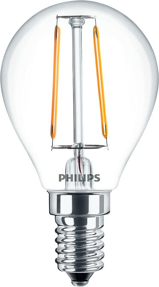Philips Filament Classic Birne E14 2 Watt