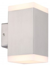 LED Wandleuchte Cedros 7 Duo warmweiß 2x 450lm