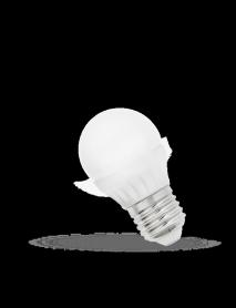 Kleine E27 LED Lampe 7 Watt 620-640 Lumen Lichtfarbe wählbar
