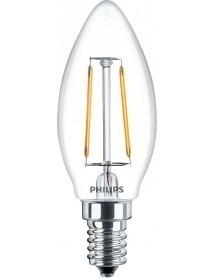 LED Filament Classic Birne Kerzenform 2 Watt