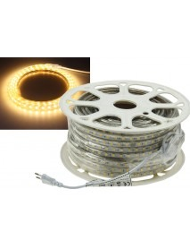 LED-Stripe Ultra-Bright 230V 50 Meter mit 500 Watt und 30000 Lumen in Warmweiß