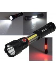 LED-Taschenlampe ARCAS 3-in1 mit 3W und 350lm