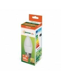LED Lampe Kerzenform E27 6 Watt