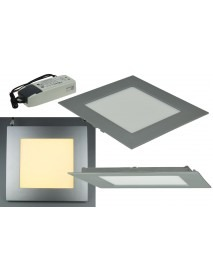 LED Licht-Panel CTP-20 warmweiß 20x20cm