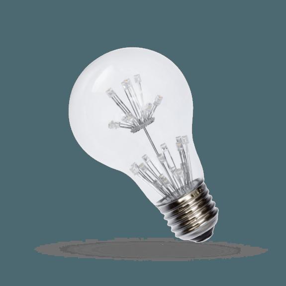 LED Dekoration Birne 1,5 Watt 110 Lumen