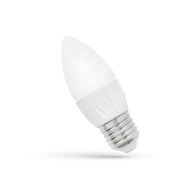 LED Lampe Kerzenform E27 6 Watt