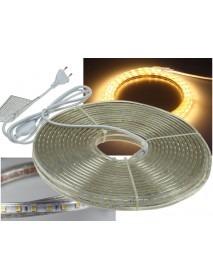 LED-Stripe Ultra-Bright 230V 20 Meter mit 200 Watt und 12000 Lumen in Warmweiß