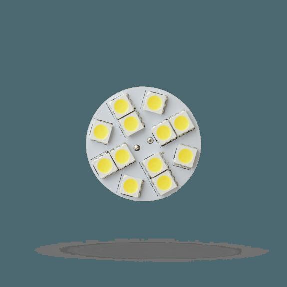 G4 Plättchen 1,2 Watt 125 Lumen Back Pin