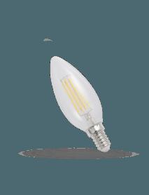 E14 LED Filament Leuchte 4 Watt 450 Lumen A++