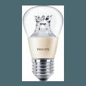 Philips DiamondSpark E27 LED Birne 4 - 6 Watt warm dimming