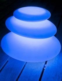 LED Schwimmleuchte ZEN 42x28cm