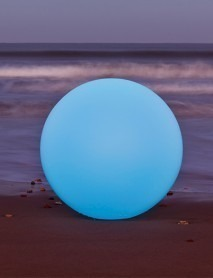 LED RGB Bluetooth Schwimmleuchte GLOBE 50cm
