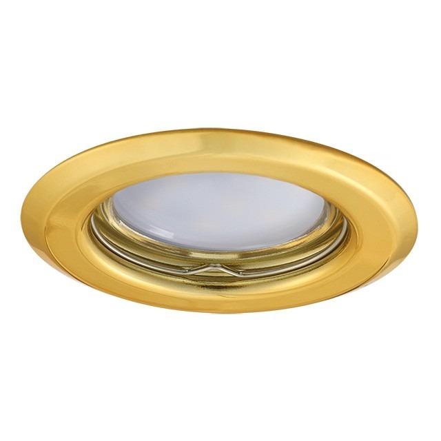 GU5.3 / GU10 Einbauringe Strahler/Spot Fassung wählbar Gold