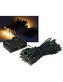 LED Batterie-Lichterkette CT-TK100 10m