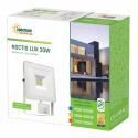 LED Fluter / Scheinwerfer NOCTIS Lux in Weiß 30 Watt mit Bewegungsmelder - Lichtfarbe wählbar
