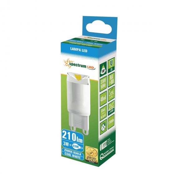 LED Lampe G9 3 Watt 200 Lumen kaltweiß