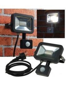 LED-Fluter SlimLine CTF-SL10 PIR schwarz 750lm 10W