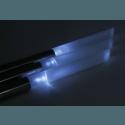 LED Solar Gartenleuchte 3er Set 70 cm Höhe