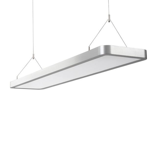 LED Arbeitsplatzleuchte / Abhängleuchte / Pendelleuchte 127 cm 3.900 Lumen Neutralweiß