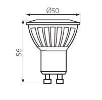 LED GU10 Strahler 9 Watt TEDI MAX 900 Lumen