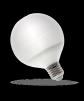 LED Globe Birne Schräg E27 spectrum LED