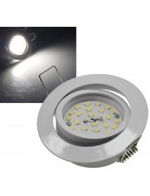 LED-Einbauleuchte Flat-32dim weiß 440lm 5W
