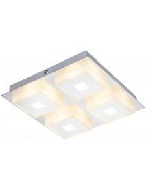 LED Deckenleuchte QDL-04 mit 1240 Lumen und 20 Watt Warmweiß