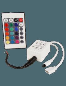 RGB-Controller für LED-Stripes inkl. Funk-Fernbedienung