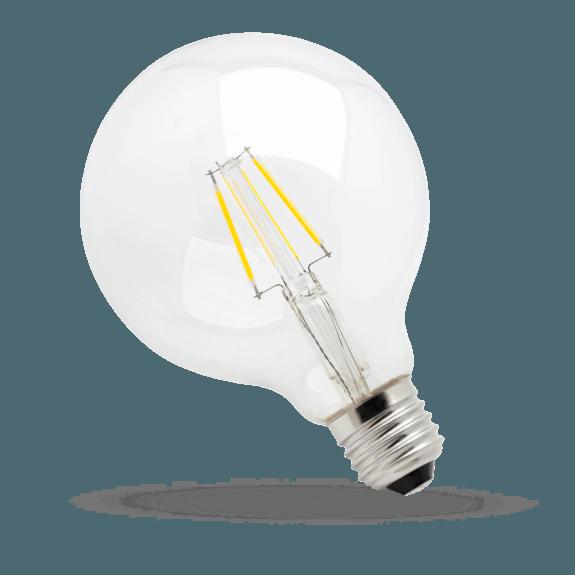 SpectrumLED Filament LED Globe 4 Watt 450 Lumen warmweiß