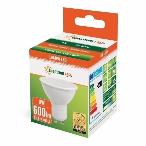 LED GU10 Strahler / Spot 4 bis 8 Watt in Weiß Warmweiss-8 Watt