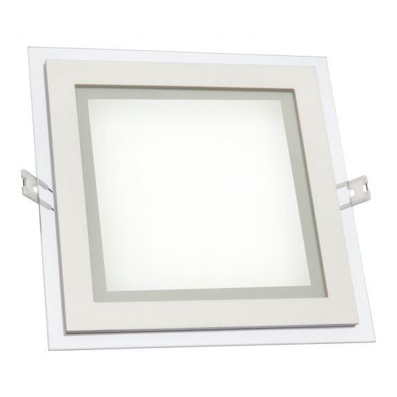 LED Panel Quadrat mit Glasumrandung 6 Watt