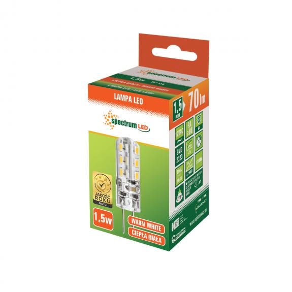 LED G4 Stiftsockellampe 1,5 Watt warmweiß
