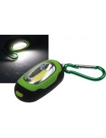 LED Karabiner-Leuchte CAL COB Micro 60lm 0,7W