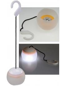 Hängeleuchte mit 4 LED und Haken 30lm