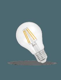 E27 LED Filament Birne 6 Watt 750 Lumen warmweiß