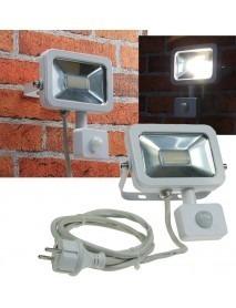 LED-Fluter SlimLine CTF-SL10 PIR weiß 750lm 10W