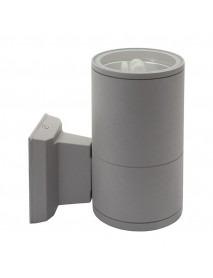 Edle zylinderförmige LED-Wandleuchte für den Außenbereich E27 Fassung