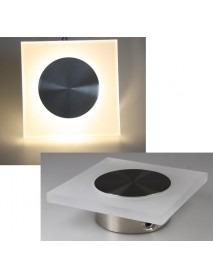 LED Wandleuchte WL 18 125x125mm mit 1,5 Watt und 73 Lumen Warmweiß