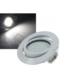 LED-Einbauleuchte Flat-26 neutralweiß 350lm 4W